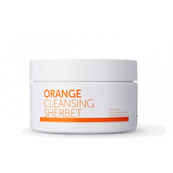 Очищающий шербет с экстрактом апельсина Aromatica Orange Cleansing Sherbet