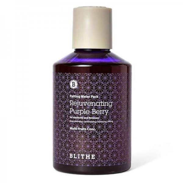 Сплэш-маска для лица Blithe Patting Splash Mask Rejuvenating Purple Berry