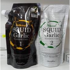 Краска для волос BeautyOne Naturel SQUID Garlic treatment color