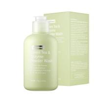 Энзимная пудра с зелёным чаем By Wishtrend Green Tea & Enzyme Powder Wash