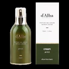 Восстанавливающий крем для лица с пептидами для проблемной кожи d'Alba Peptide no sebum Repair 50ml