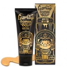 Маска-пленка Elizavecca Hell-Pore Longolongo Gronique Gold Mask Pack