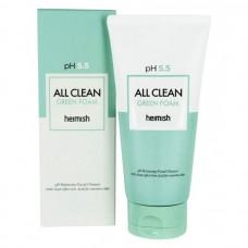 Пенка для умывания Heimish All Clean Green Foam рH 5.5