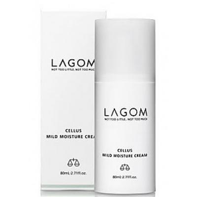 Мягкий увлажняющий крем LAGOM Cellus Mild Moisture Cream 80ml
