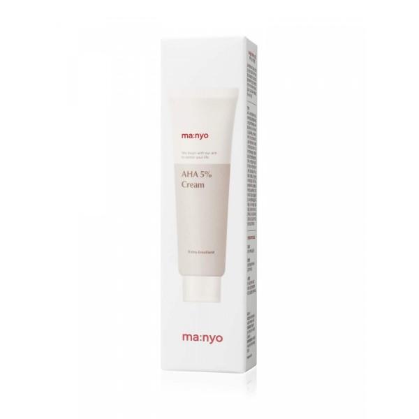 Обновляющий крем для лица с АНА-кислотами Manyo AHA 5% Cream