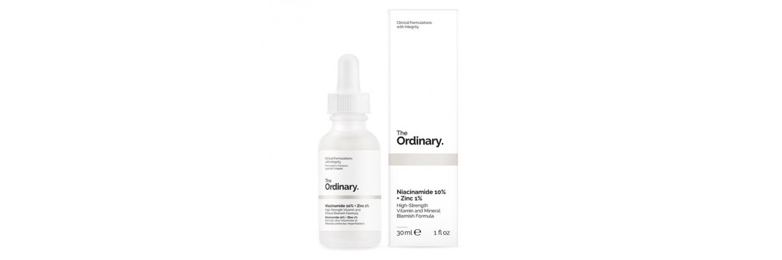 Сыворотка The Ordinary Niacinamide 10%+Zinc 1%