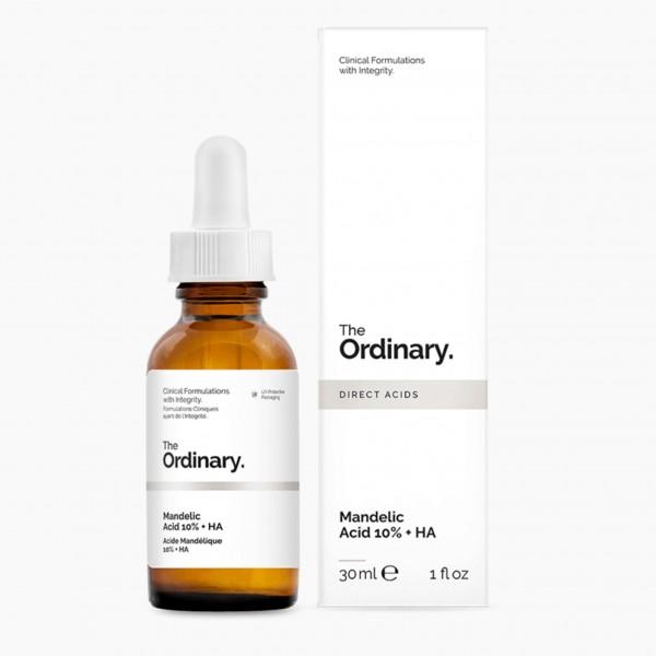 Сыворотка с 10% миндальной кислоты и гиалуроновой кислотой The Ordinary Mandelic Acid 10% + HA