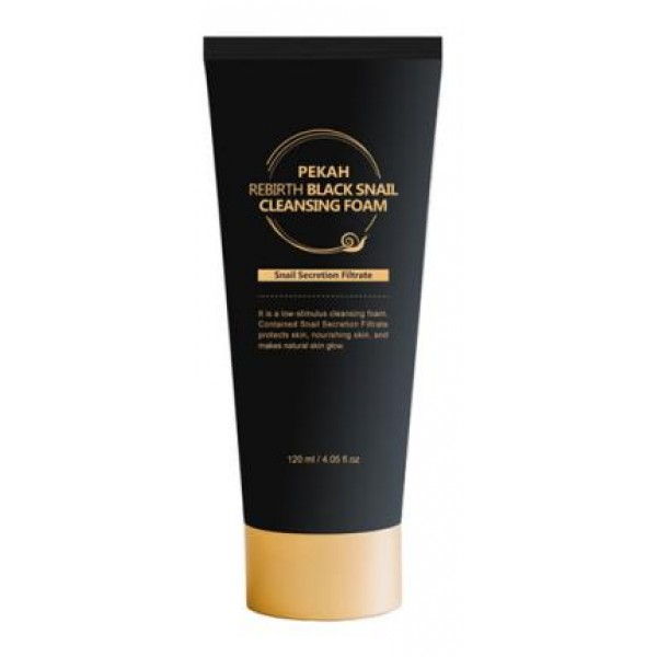Пенка PEKAH REBIRTH BLACK SNAIL Cleansing Foam