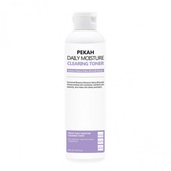 Очищающий тонер с экстрактом брокколи  PEKAH Daily Moisture Clearing Toner