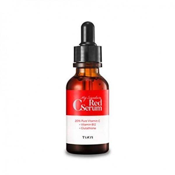 Красная сыворотка с витамином С TIAM My Signature Red C Serum