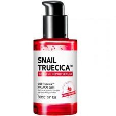 Сыворотка с муцином чёрной улитки Some By Mi Snail Truecica Miracle Repair Serum