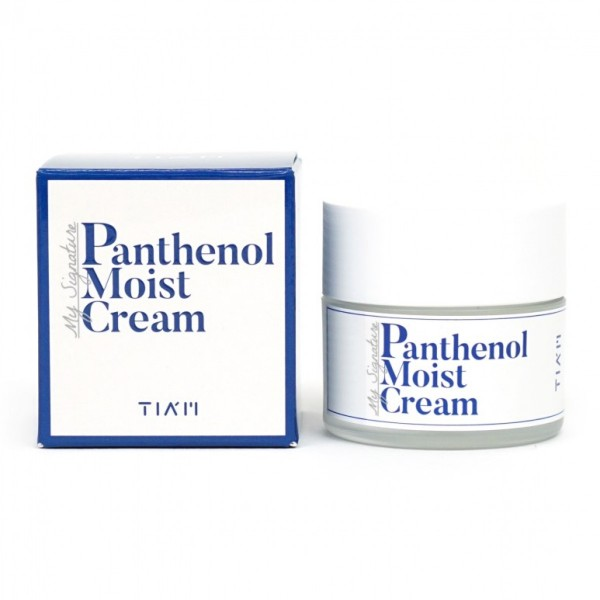 Интенсивно увлажняющий крем с пантенолом TIAM My Signature Panthenol Moist Cream