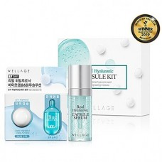 Мини-набор Wellage Real Hyaluronic Capsule Kit(2 kinds)