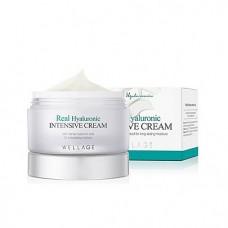 Интенсивный гиалуроновый крем Wellage Real HA Hydrate Intensive Cream