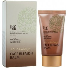 Омолаживающий ББ-крем Welcos Lotus BB No Make Up Face Blemish Balm SPF30 PA++