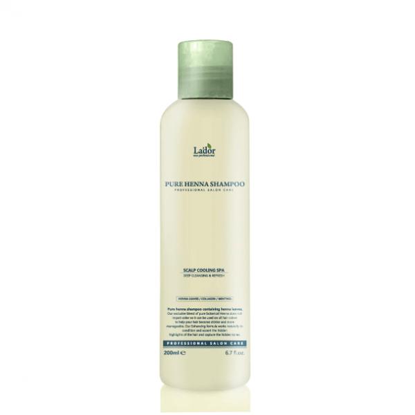 Профессиональный укрепляющий шампунь с хной LADOR Pure Henna Shampoo