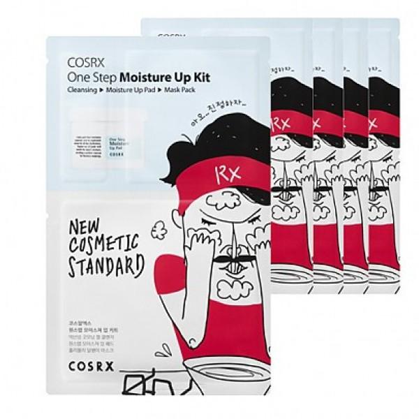 Набор по уходу за кожей лица CosRX One Step Moisture Up Kit (ватный диск)