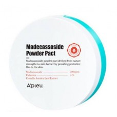 Матирующая компактная пудра с мадекассосидом A'PIEU Madecassoside Powder Pact