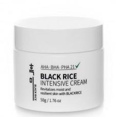 Крем с AHA BHA PHA-кислотами и черным рисом Black Rice Intensive Cream