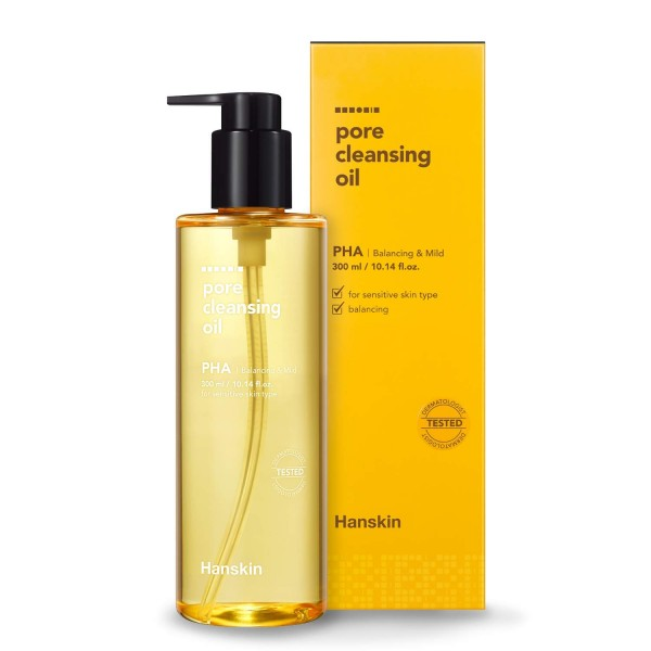 Гидрофильное масло с PHА кислотами HANSKIN Cleansing Oil PHA (300ml)