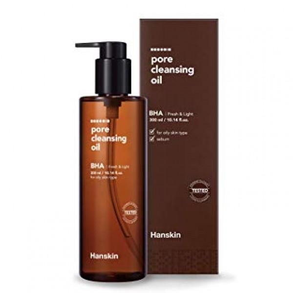 Гидрофильное масло для жирной кожи HANSKIN Pore Cleansing Oil BHA Oily Skin