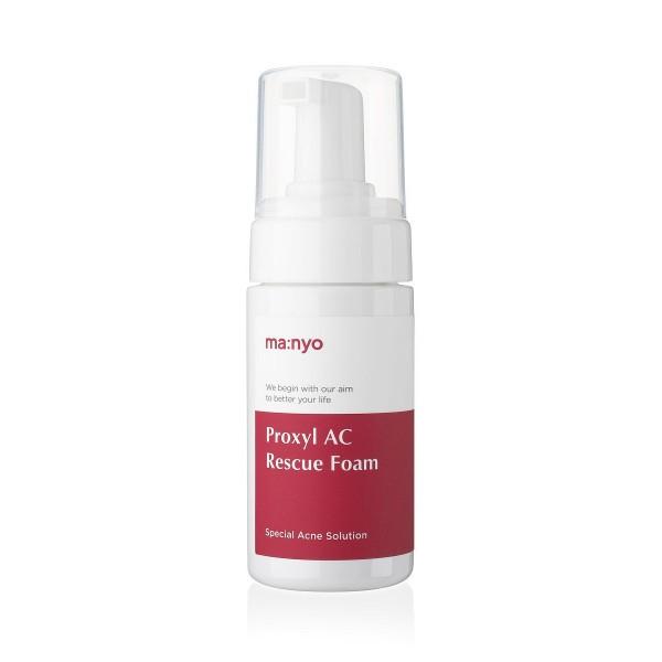 Очищающая пенка для проблемной кожи Manyo Proxyl AC Rescue Foam