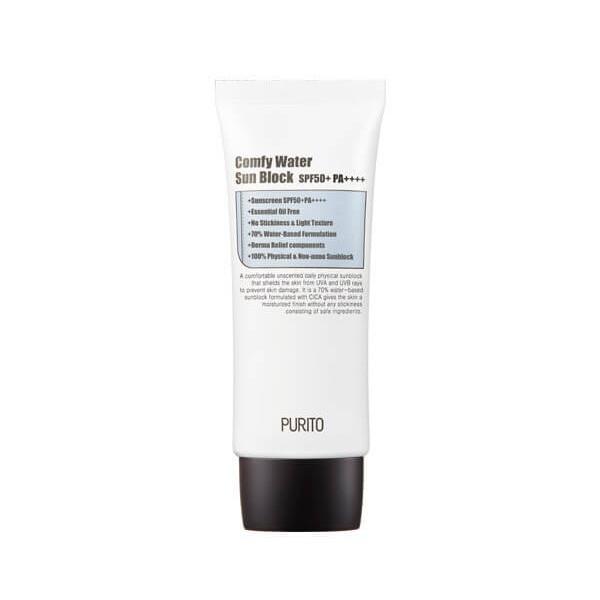 Увлажняющий солнцезащитный крем Purito Comfy Water Sun Block SPF50+PA++++