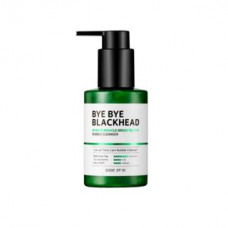 Маска от чёрных точек SOME BY MI BYE BYE BLACKHEAD 30 Days Miracle Green TeaTox Bubble Cleanser